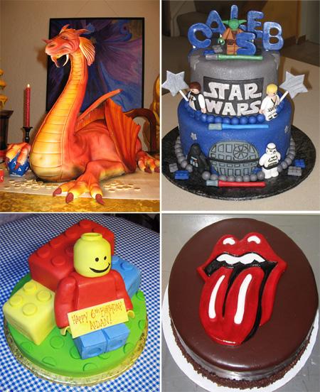 bolos interessantes