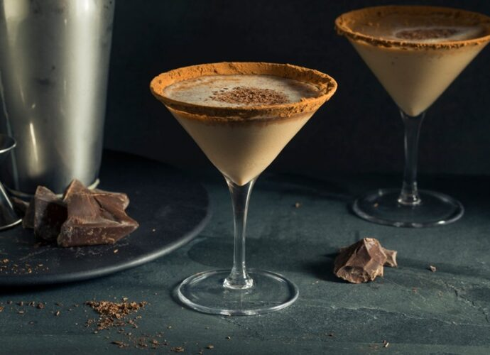 Martini de chocolate com pimenta