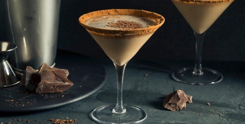 Martini de chocolate com pimenta