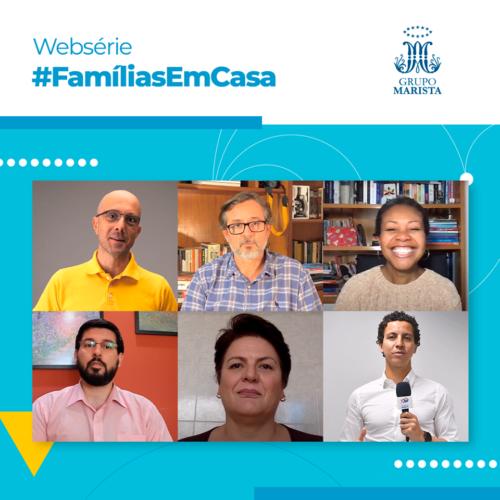 #FamíliasEmCasa