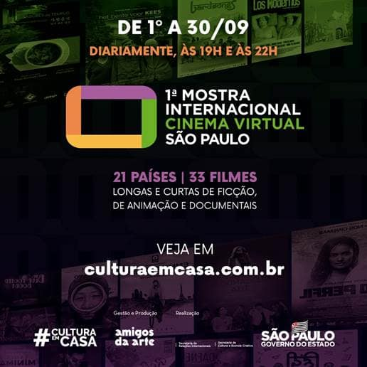 1ª Mostra Internacional de Cinema Virtual de São Paulo