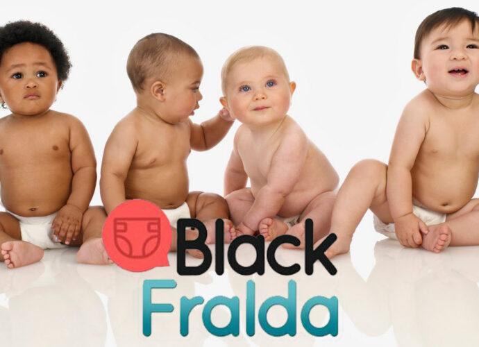Black fralda