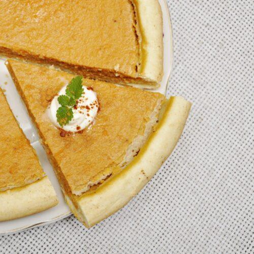 Torta Proteica de Abóbora